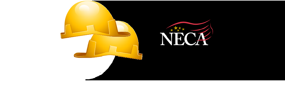 Billboard NECA Construction Experts Hard Hats
