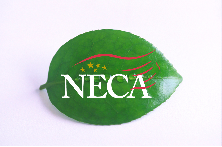 NECA Green Leaf Footer